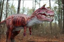 Edaville dinosaurs