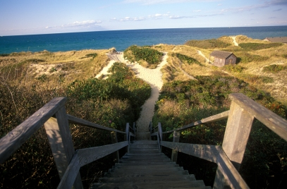 MA: Nantucket, Steps Beach